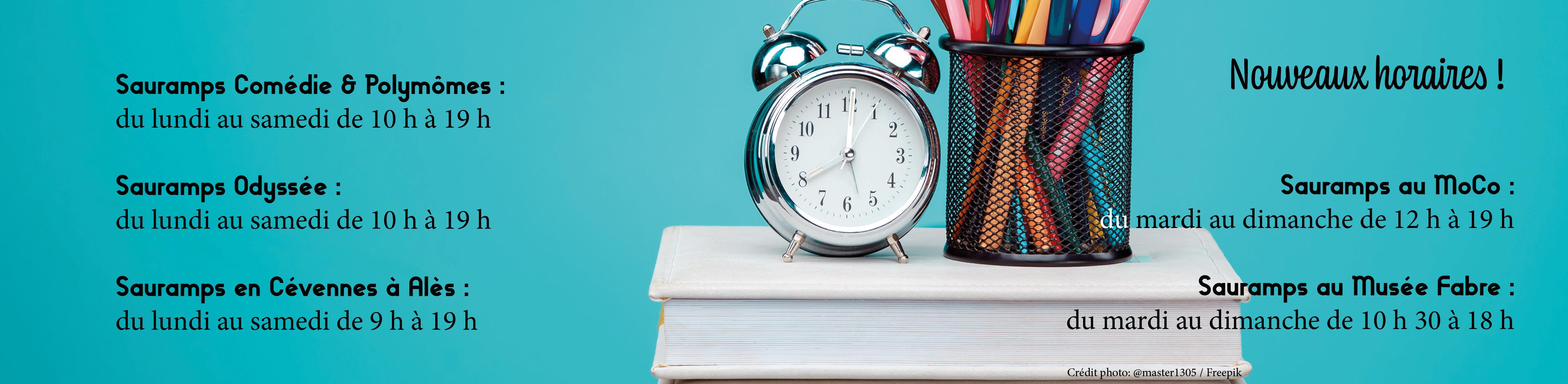 Les horaires des librairies Sauramps en juin 2020