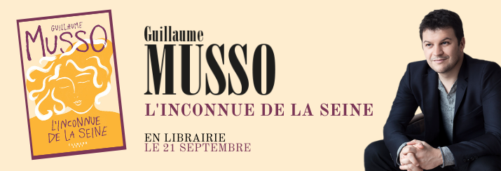 """Guillaume Musso, """"l'inconnue de la seine"""""""