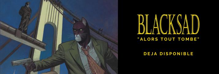 """Blacksad T6 """"Alors, tout tombe""""."""