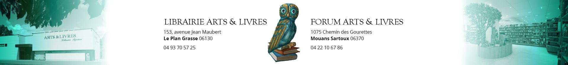 Les librairies Arts & Livres