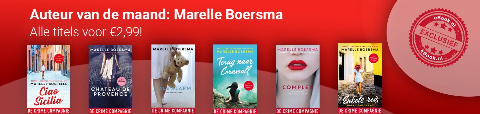 Auteur van de maand: Marelle Boersma
