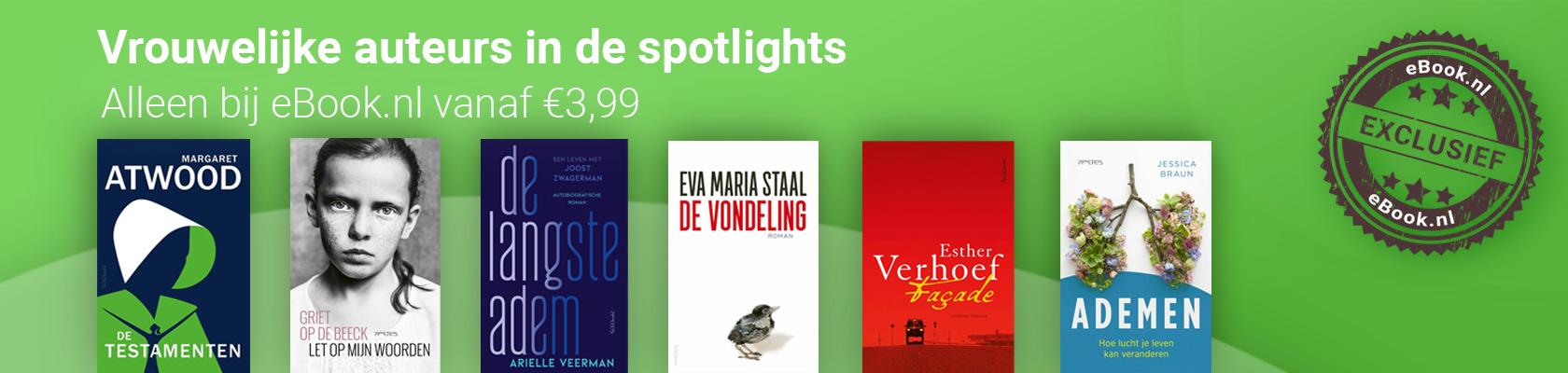 Vrouwelijke auteurs in de spotlights