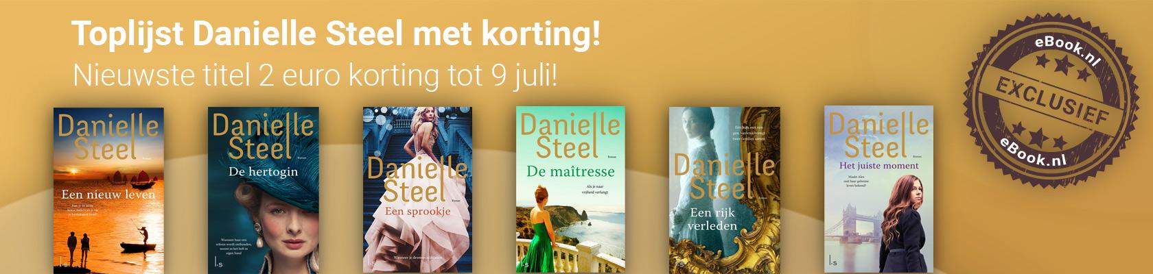 Exclusief bij eBook.nl toplijst Danielle Steel met korting