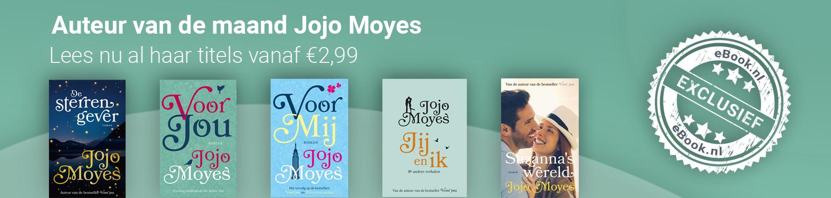 Auteur van de Maand: Jojo Moyes
