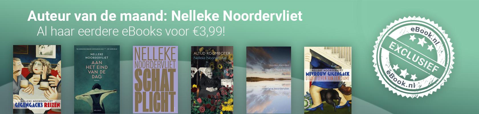 Auteur van de maand: Nelleke Noordervliet