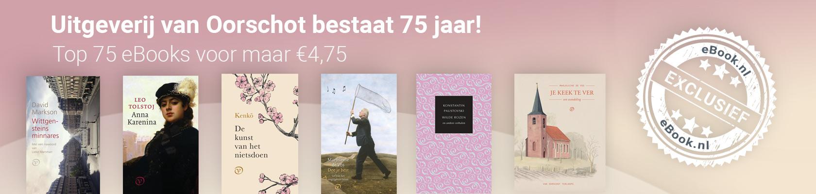 Top 75 eBooks van Uitgeverij van Oorschot
