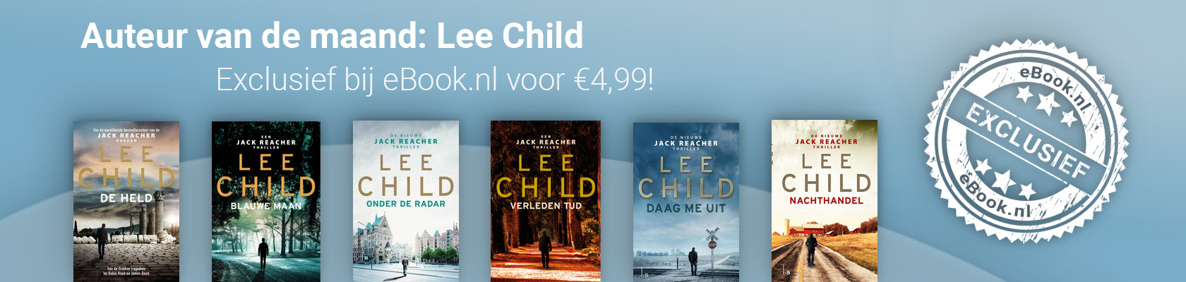 Auteur van de maand: Lee Child