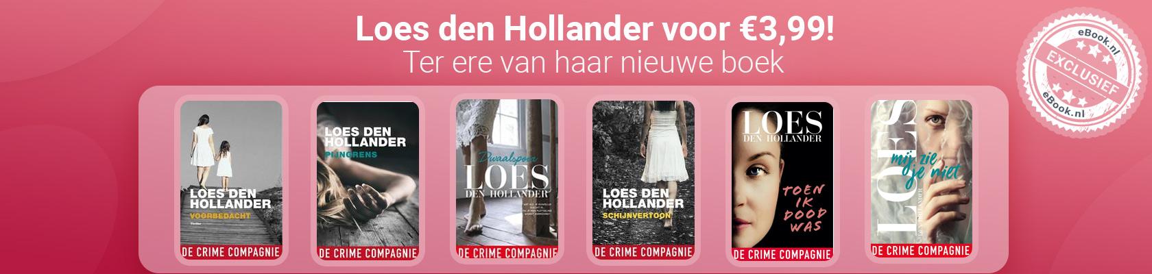 Loes den Hollander exclusief bij eBook.nl