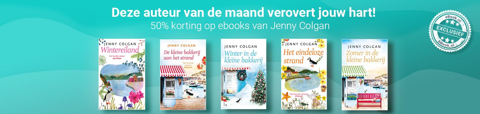 Auteur van de maand: Jenny Colgan