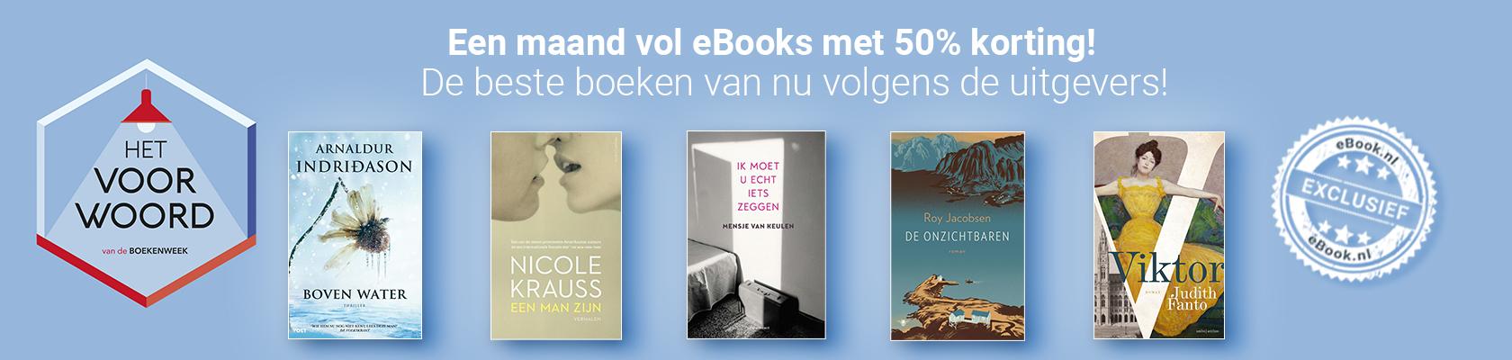 Maand vol eBooks_ Het Voor Word van de Boekenweek