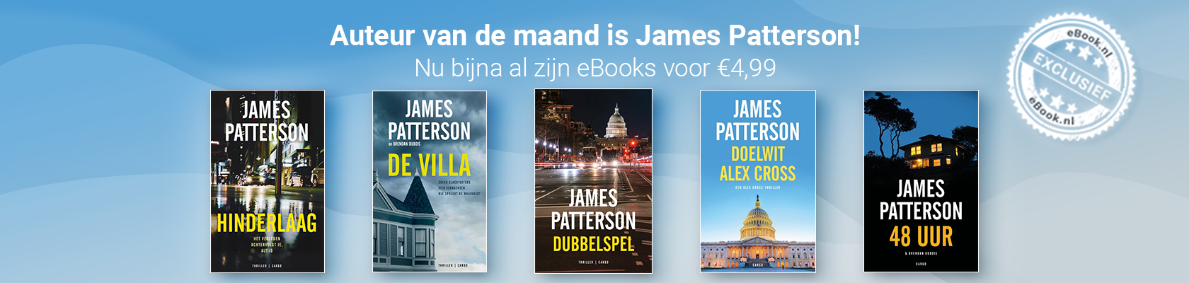Auteur van de maand: James Patterson