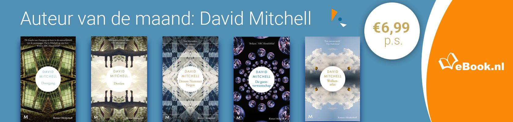 Auteur van de maand: David Mitchell