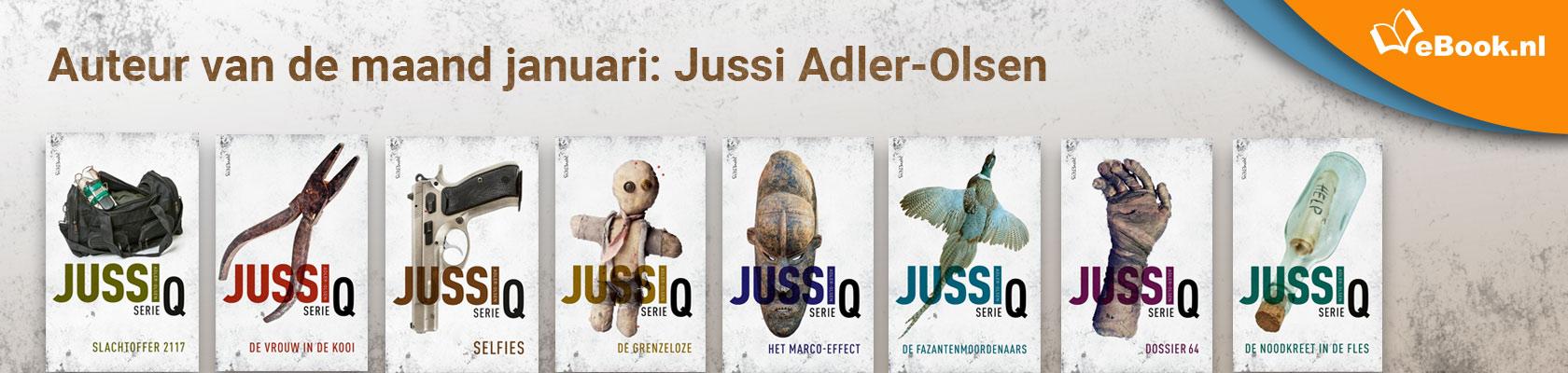Auteur van de maand: Jussi Adler Olsen