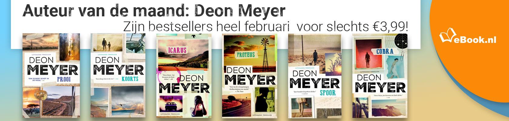 Auteur van de maand: Deon Meyer