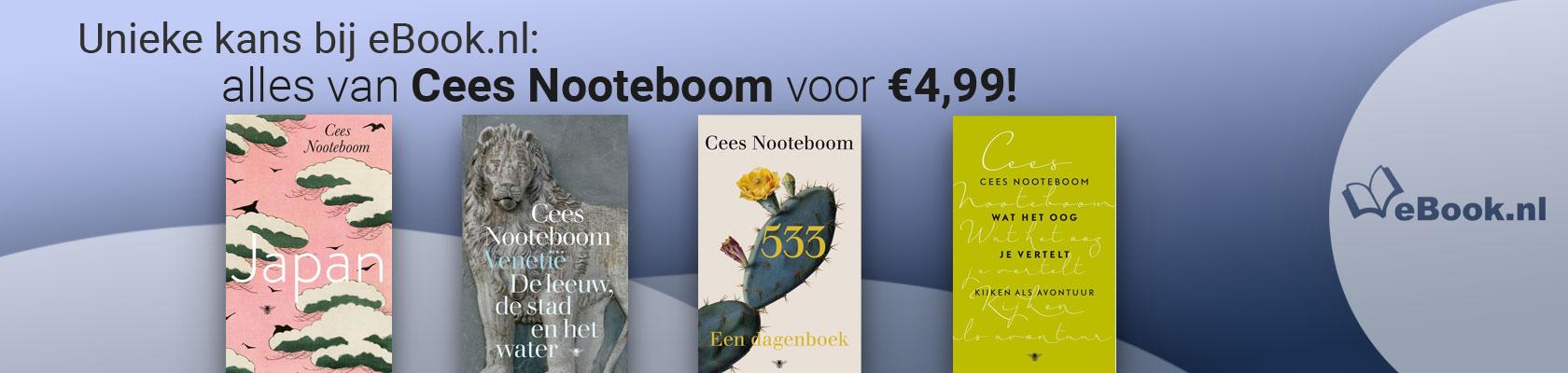 Auteur van de maand: Cees Noteboom