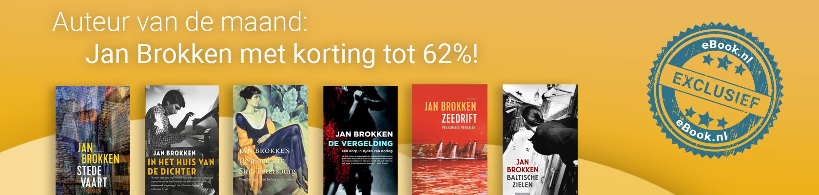 Auteur van de maand: Jan Brokken