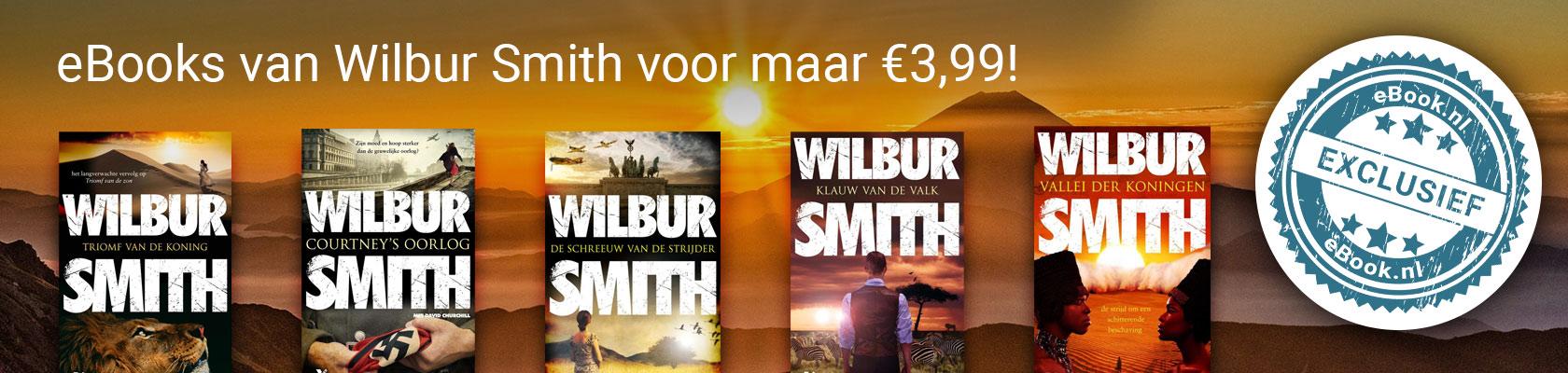 eBooks van Wilbur Smith voor maar € 3,99