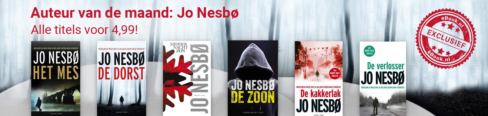 Auteur van de maand: Jo Nesbø