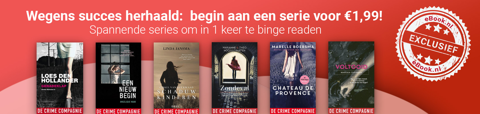 Spannende series om in 1 keer te binge readen