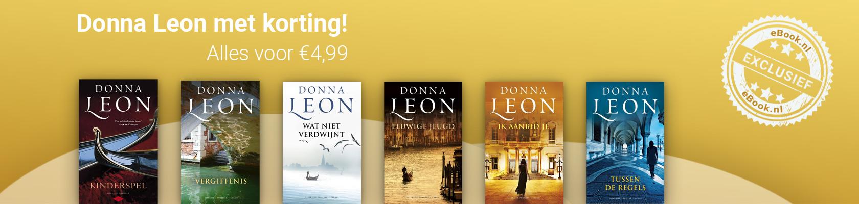 Donna Leon met korting in de Spannende Boeken Weken
