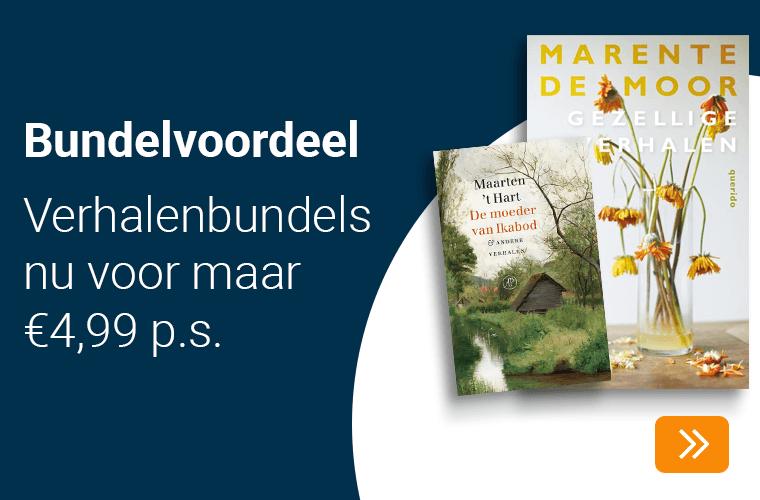 Bundelvoordeel met deze verhalenbundels voor maar €4,99 p.s.