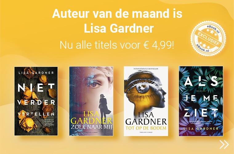 Lisa Gardner is auteur van de maand met hoge korting