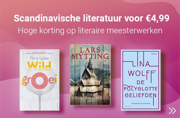scandinavische literatuur met korting