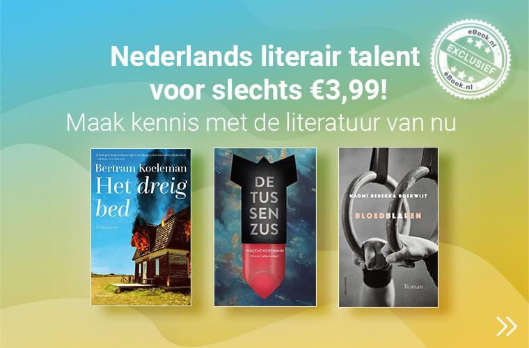 ebooks van jonge nederlandse literaire auteurs voor 3,99