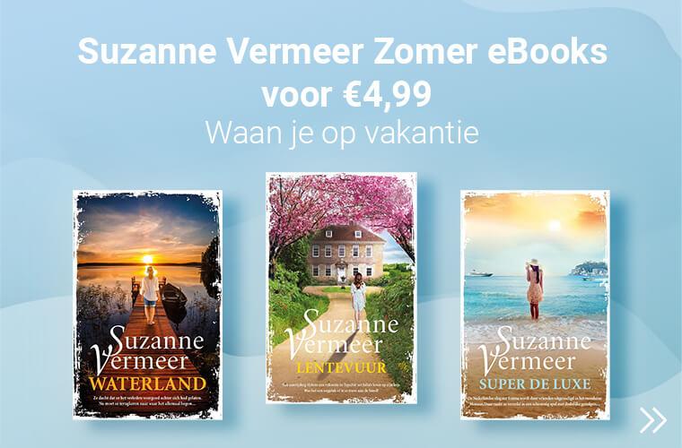 Zomerthrillers Suzanne Vermeer met korting