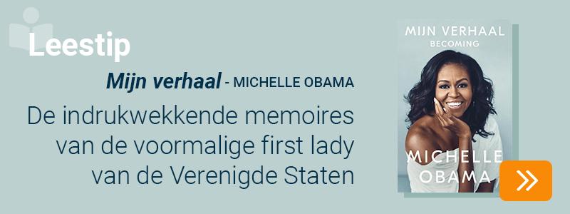 Leestip - Mijn verhaal - Michelle Obama