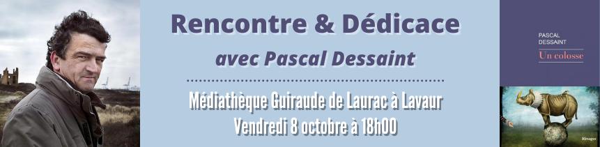 Dédiace avec Pascal Dessaint