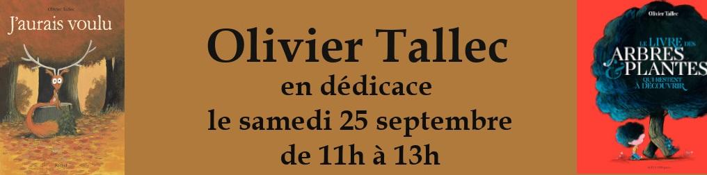 Dédicace Olivier Tallec