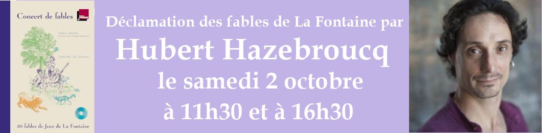 Déclamation de fables de La Fontaine