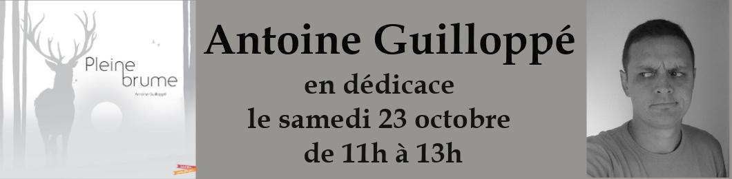 Dédicace Antoine Guilloppé