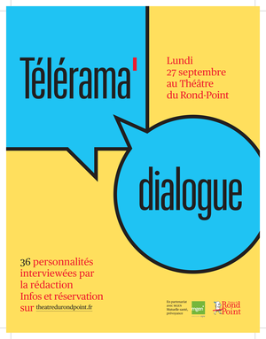 Les rencontres T�l�rama Dialogue du 27 septembre 2021
