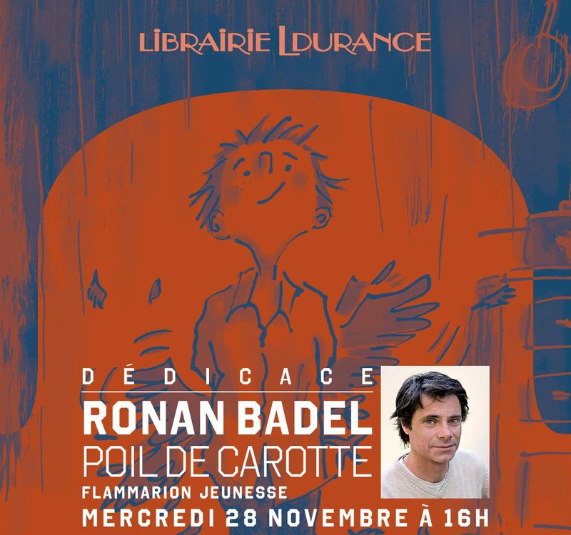 Dedicace De Ronan Badel
