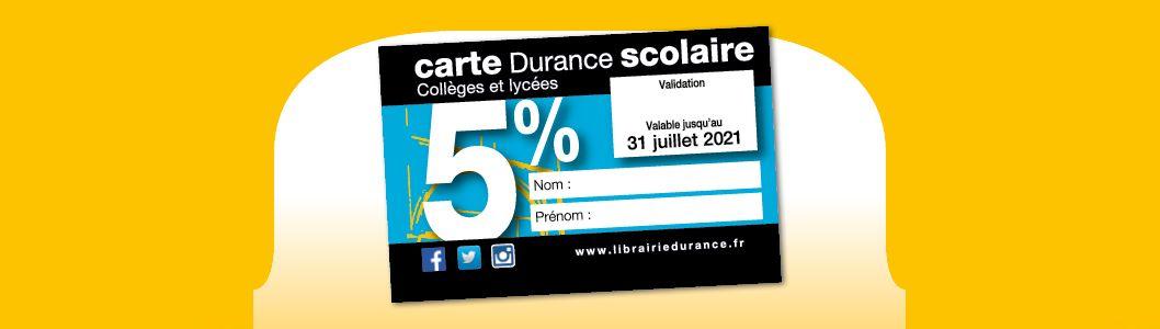 Carte Durance Scolaire