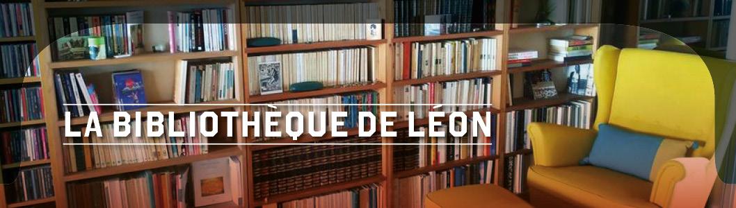 La bibliothèque de Léon