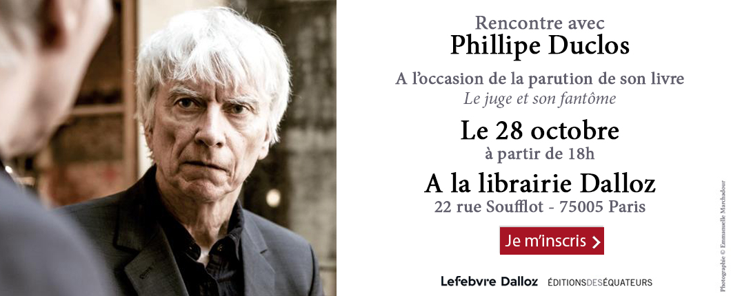 Evènement Philippe Duclos