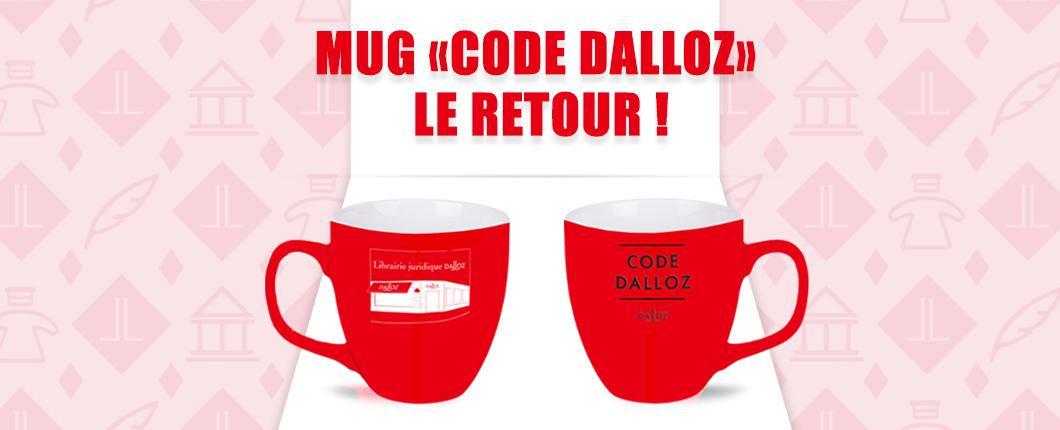 """Mug """"Code Dalloz"""" 2020"""