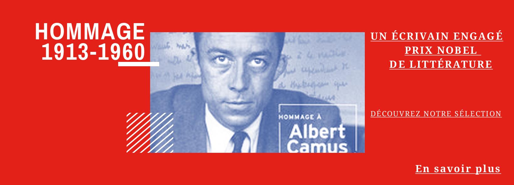 Hommage à Albert Camus (1913-1960)