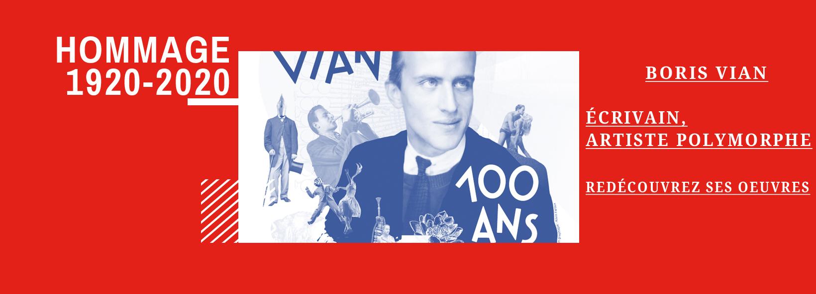 La librairie de Paris aime Le Centenaire de Boris Vian !