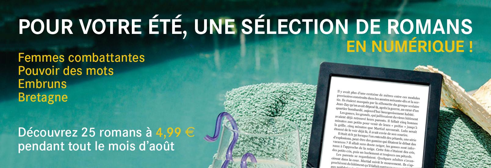 Sélection d'e-books des éditions du Rouergue à 4,99 € en août !