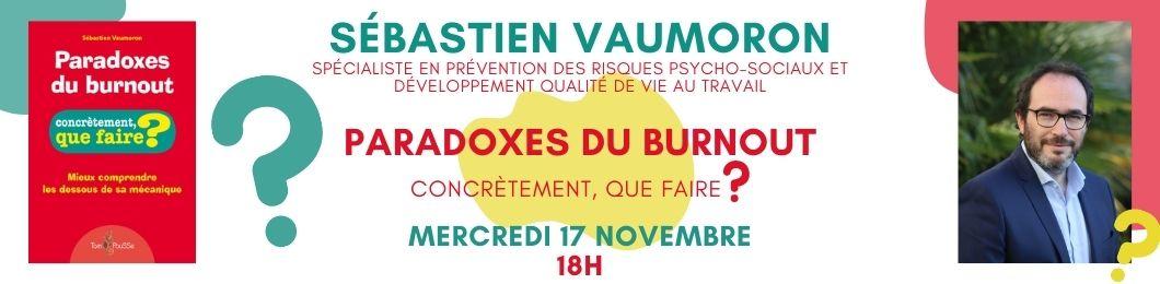 Rencontre avec Sébastien Vaumoron