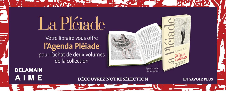 """Agenda de la Pléiade """"Kentridge"""" offert pour l'achat de deux volumes"""