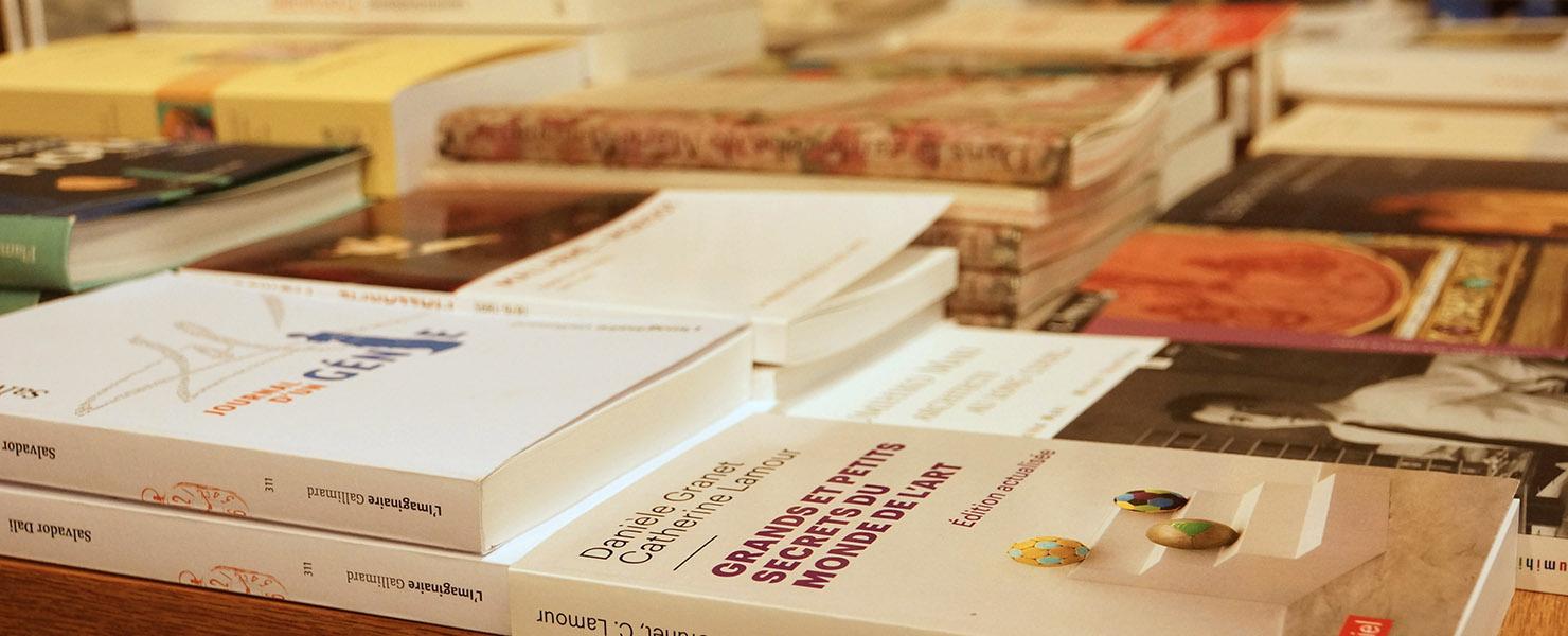 La librairie Delamain - Rayon beaux-arts