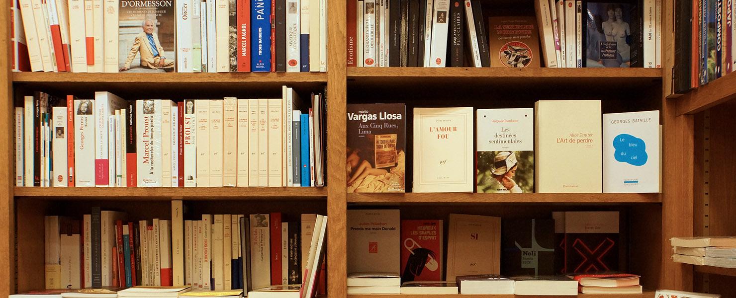 La librairie Delamain - Rayon littérature