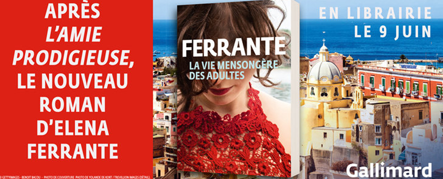 Après l'ami prodigieuse, le nouveau roman d'Elena Ferrante