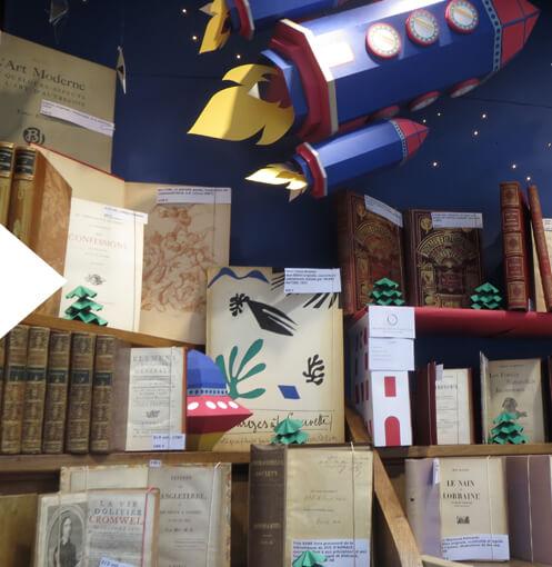Des livres anciens pour Noel