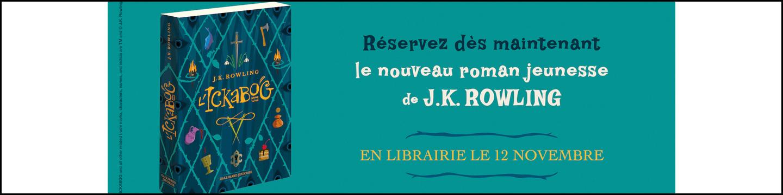 Pré-commandes Ickabog de J.K. Rowling